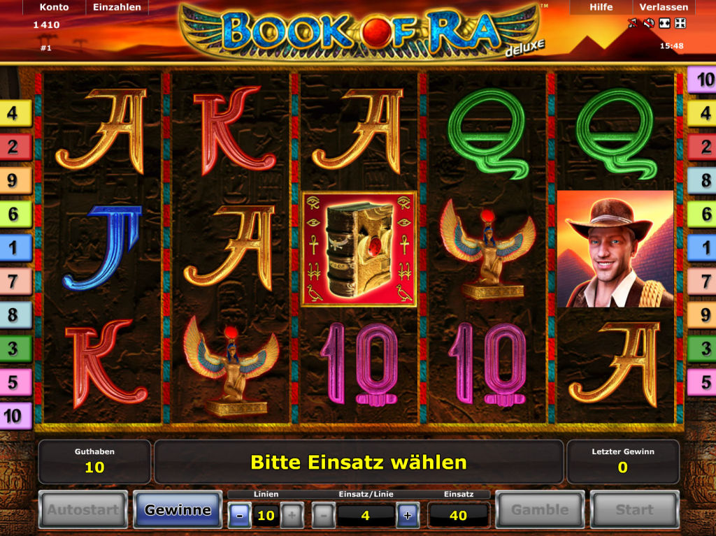 best us online casino book auf ra